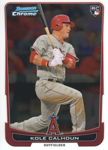Photo of 2012 Bowman Chrome #188 Kole Calhoun RC