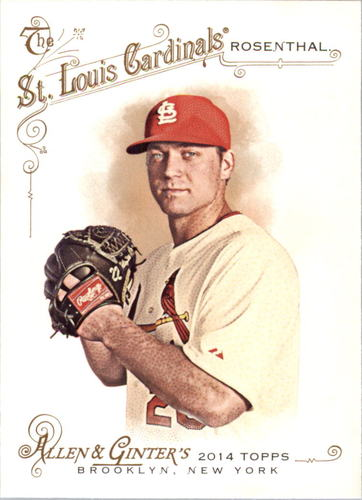 Photo of 2014 Topps Allen and Ginter #277 Trevor Rosenthal