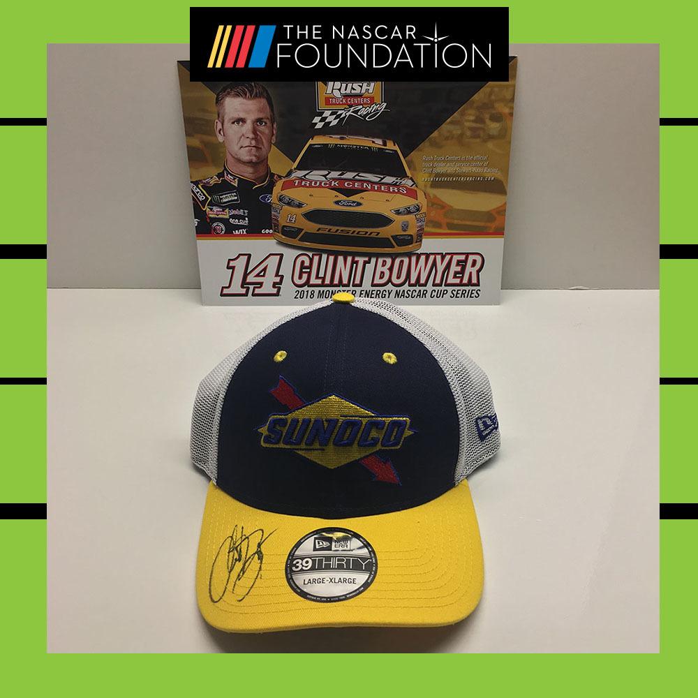 NASCAR's Clint Bowyer Autographed Hat!