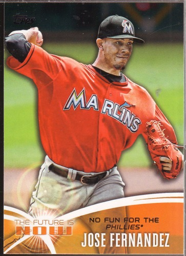 Photo of 2014 Topps The Future is Now #FN21 Jose Fernandez