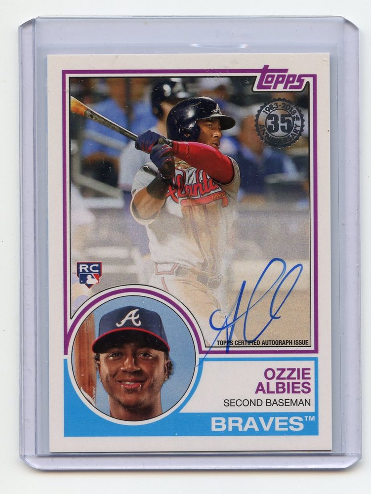 2018 Topps '83 Topps Autographs #83AOAL Ozzie Albies