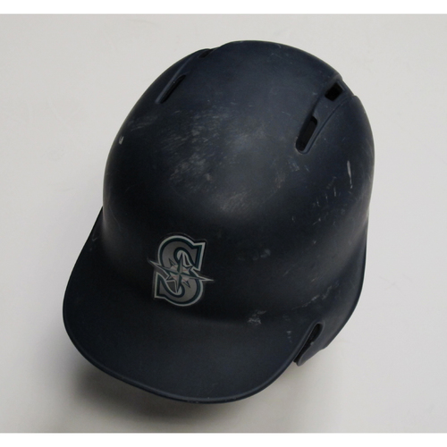 Photo of 2018 Team-Issued Navy Batting Helmet: Edwin Diaz