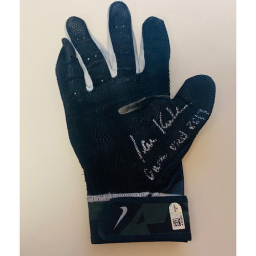 Photo of Autographed Ian Kinsler Batting Glove
