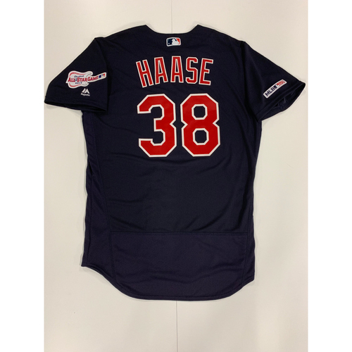 Photo of Eric Haase 2019 Team Issued Alternate Road Jersey