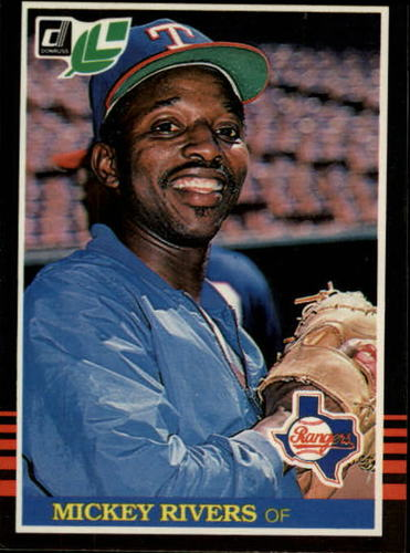 Photo of 1985 Leaf/Donruss #35 Mickey Rivers