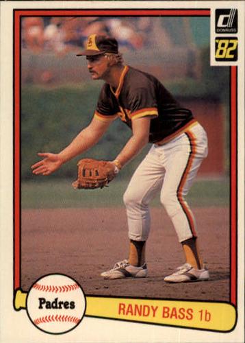 Photo of 1982 Donruss #439 Randy Bass