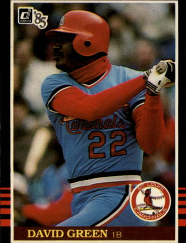 Photo of 1985 Donruss #303 David Green