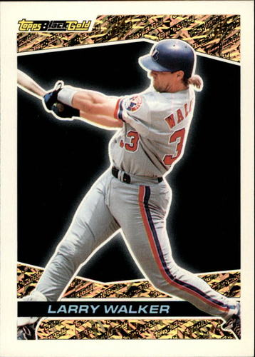 Photo of 1993 Topps Black Gold #22 Larry Walker