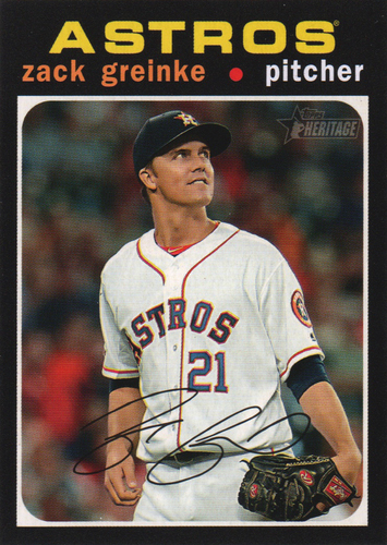 Photo of 2020 Topps Heritage #149 Zack Greinke