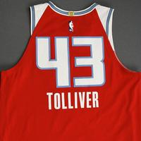 Anthony Tolliver - Sacramento Kings - Game-Worn City Edition Jersey - 2019-20 Season