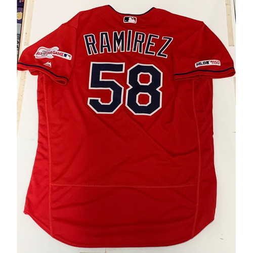 Photo of Neil Ramirez Team Issued 2019 Alternate Home Jersey