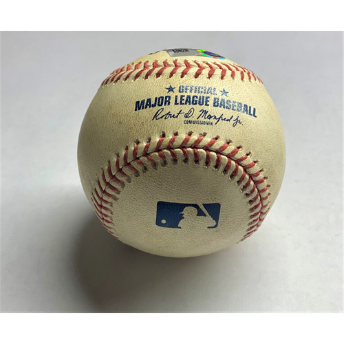 Anthony Castro MLB Debut Game-Pitched Baseball (MLB AUTHENTICATED)