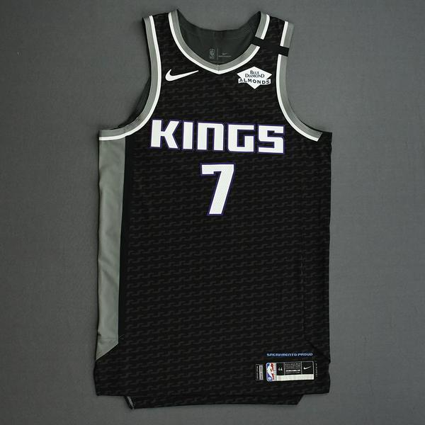 Image of Kyle Guy - Sacramento Kings - Game-Issued Statement Edition Jersey - 2019-20 NBA Season Restart with Social Justice Message