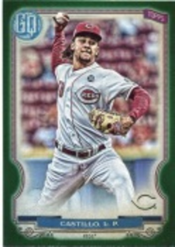 Photo of 2020 Topps Gypsy Queen Green #249 Luis Castillo