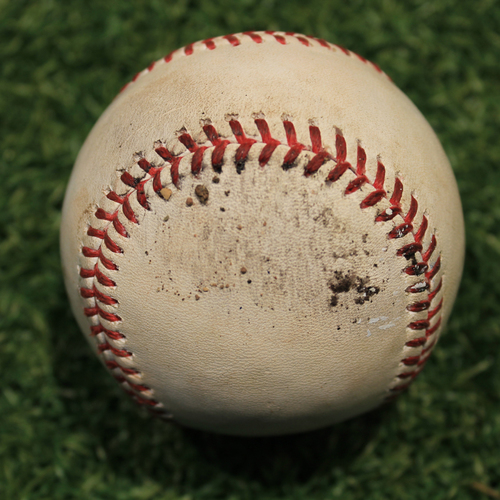 Photo of Game-Used Baseball: AL Silver Slugger Award Winner Tim Anderson 117th Career Double (CWS @ KC 9/5/20)