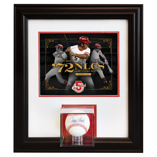 Johnny Bench Home Run Collection - 1972 NLCS Game 5 - Game Tying Home Run in 9th Inning of Pennant Clincher: October 11, 1972