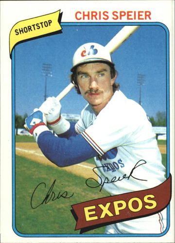 Photo of 1980 Topps #319 Chris Speier