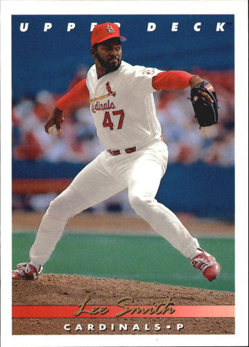 Photo of 1993 Upper Deck Gold Hologram #82 Lee Smith