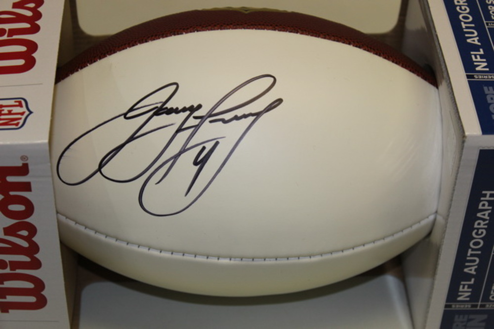 NFL - BEARS JAY FEELY SIGNED PANEL BALL