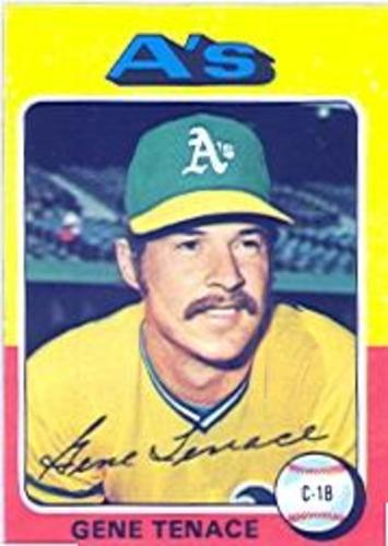 Photo of 1975 Topps #535 Gene Tenace