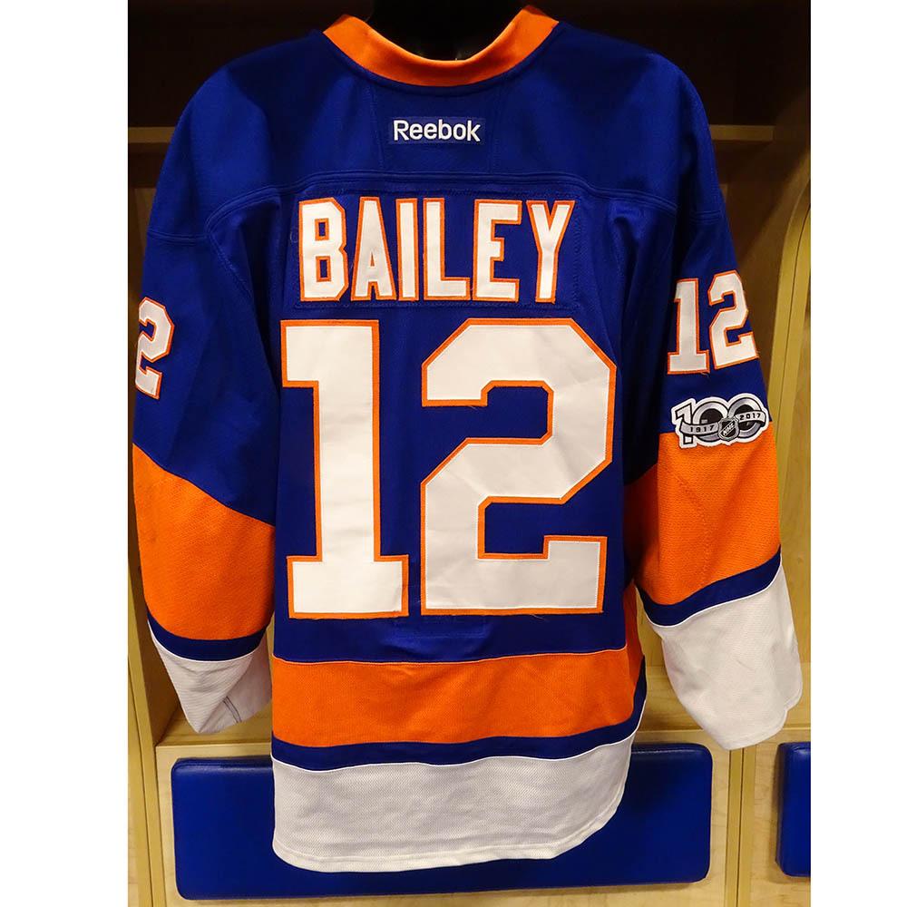 wholesale dealer ee90b 5cd04 Josh Bailey - Game Worn Home Jersey - 2016-17 Season - New ...