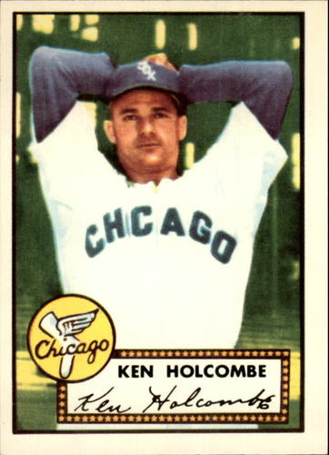 Photo of 1983 Topps 1952 Reprint #95 Ken Holcombe