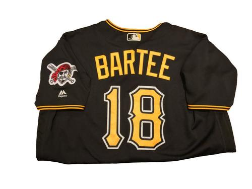 #18 Kimera Bartee Game-Used Black Alternate Jersey - Worn on 4/11/17