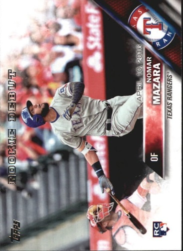 Photo of 2016 Topps Update #US295 Nomar Mazara Rookie Card