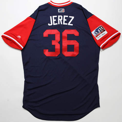 "Photo of Williams ""Jerez"" Jerez Los Angeles Angels Game-Used 2018 Players' Weekend Jersey"