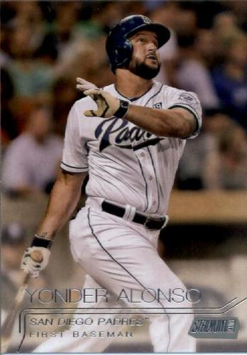 Photo of 2015 Stadium Club #46 Yonder Alonso