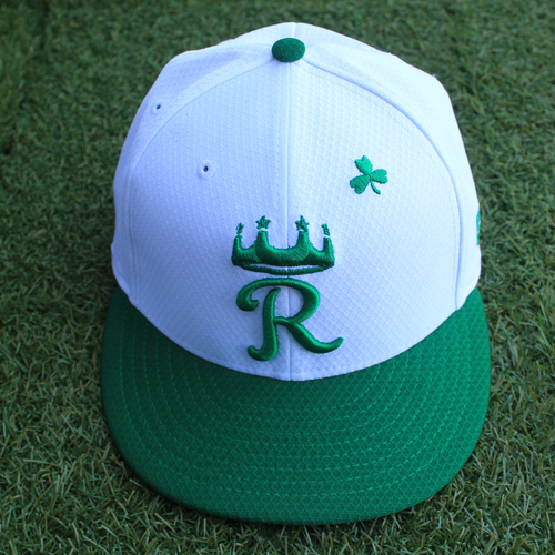 Photo of Team-Issued Saint Patrick's Day Cap: Jake Diekman (Size 7 3/8 - SEA @ KC - 3/17/19)
