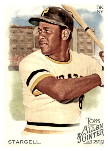Photo of 2019 Topps Allen and Ginter #87 Willie Stargell