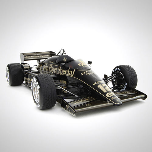 Photo of Lotus F1 Team 1985 1:8 Scale Model F1 Car, Portuguese Grand Prix