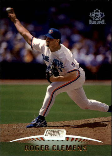 Photo of 1999 Stadium Club #96 Roger Clemens