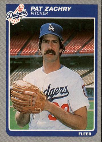 Photo of 1985 Fleer #391 Pat Zachry