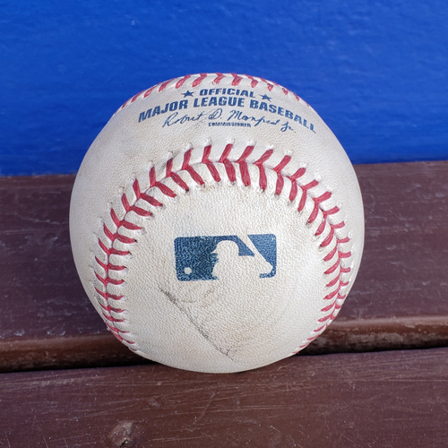 Photo of 2020 Philadelphia Phillies Game-Used Baseball (April) - PRESALE: Choose your Game Date!