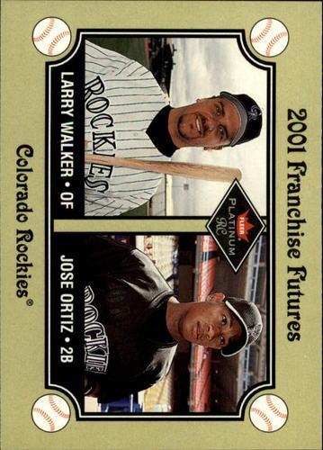 Photo of 2001 Fleer Platinum #476 L.Walker/J.Ortiz FF