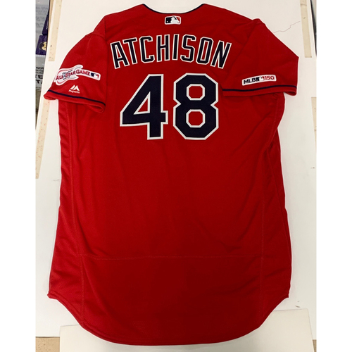 Scott Atchison Team Issued 2019 Alternate Home Jersey