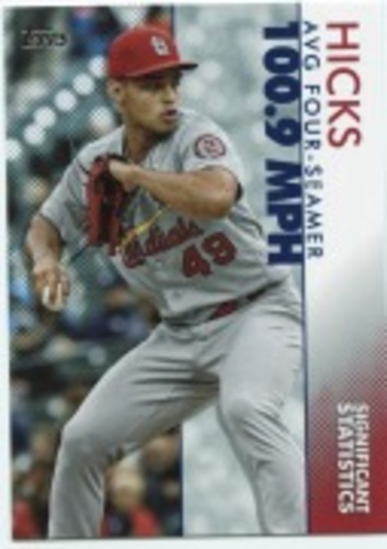 Photo of 2020 Topps Significant Statistics #SS17 Jordan Hicks