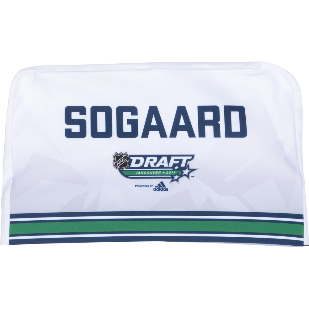 Mads Sogaard Ottawa Senators 2019 NHL Draft Seat Cover - Second set (Not Used)