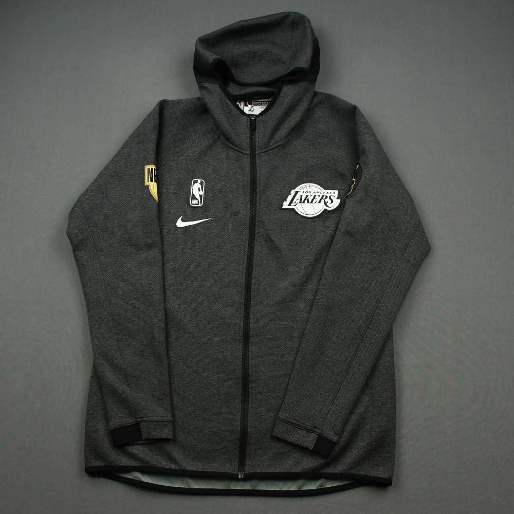 Alex Caruso - Los Angeles Lakers - 2020 NBA Finals - Game-Issued Hooded Warmup Jacket