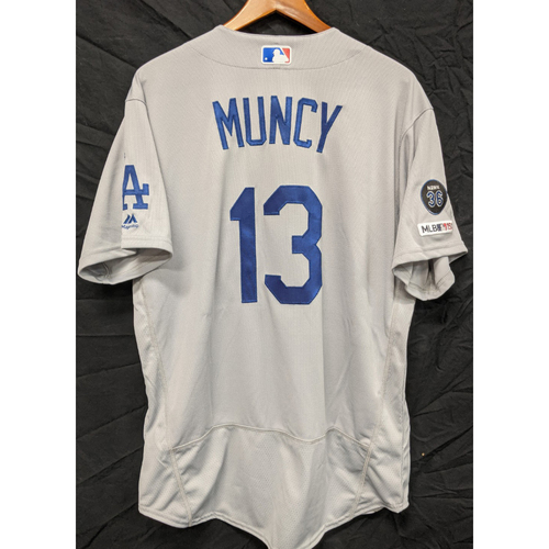 Photo of Max Muncy Team-Issued 2019 Road Jersey