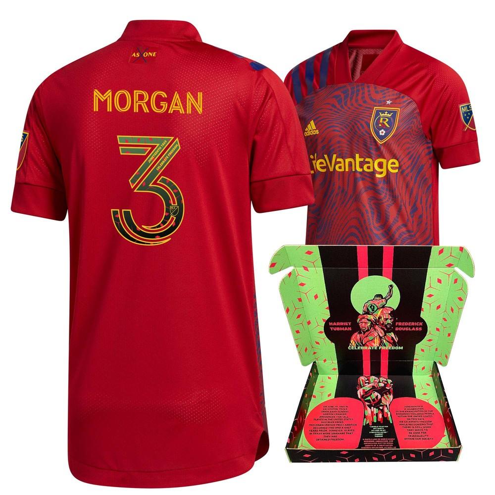 Ashtone Morgan Real Salt Lake Player-Issued & Signed