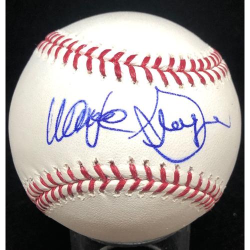 Photo of Wayne Granger -  Autographed Official Major League Baseball