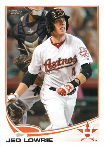 Photo of 2013 Topps #104 Jed Lowrie