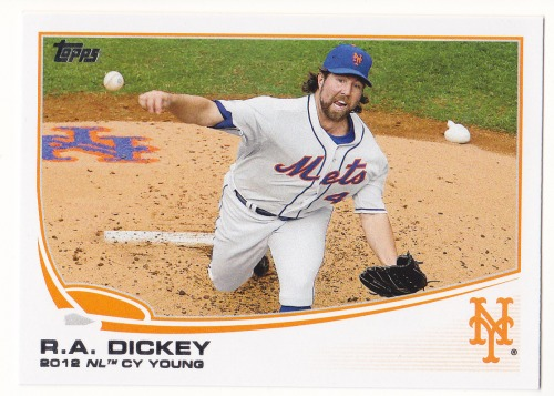 Photo of 2013 Topps #632 R.A. Dickey