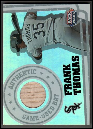 Photo of 2005 Topps Pack Wars Relics #FT Frank Thomas Bat B