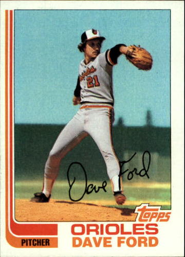 Photo of 1982 Topps #174 Dave Ford