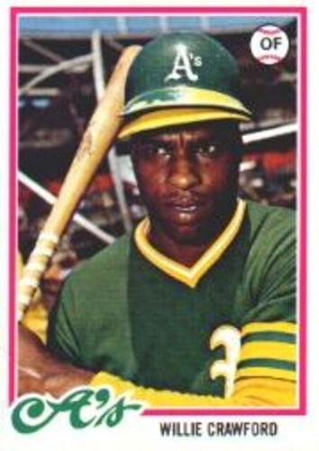 Photo of 1978 Topps #507 Willie Crawford
