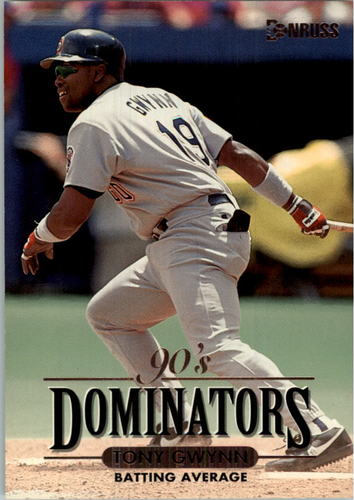 Photo of 1994 Donruss Dominators Jumbos #B1 Tony Gwynn